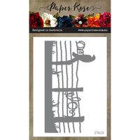 Paper Rose - Dies - Bird on Wire Fence