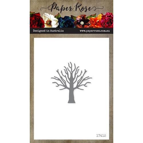 Paper Rose - Dies - Tree - Small