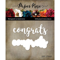 Paper Rose - Dies - Congrats Layered