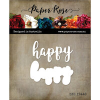 Paper Rose - Dies - Happy Layered