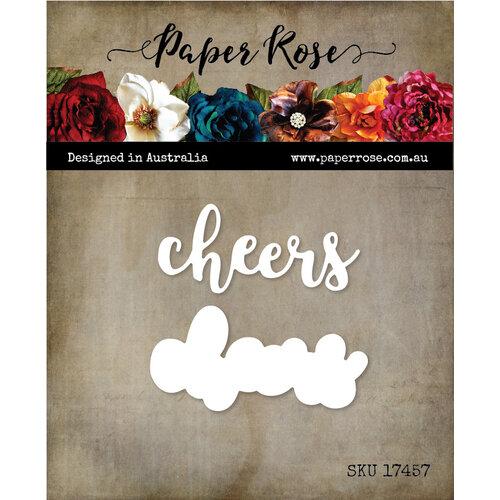 Paper Rose - Dies - Cheers Layered