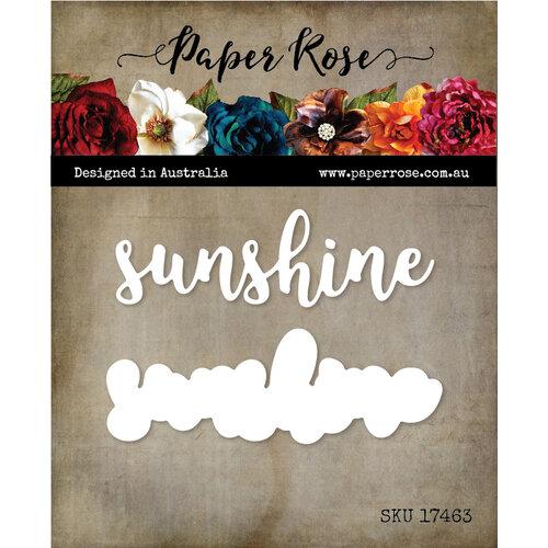 Paper Rose - Dies - Sunshine Layered