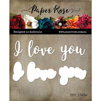 Paper Rose - Dies - I Love You Layered