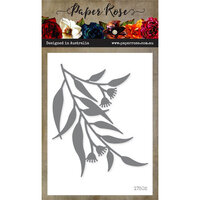 Paper Rose - Dies - Gum Leaves 1