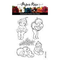 Paper Rose - Clear Photopolymer Stamps - Snugglepot and Cuddlepie - Bush Babies