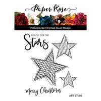 Paper Rose - Clear Photopolymer Stamps - Scribble Stars