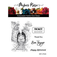 Paper Rose - Clear Photopolymer Stamps - Through the Tunnel