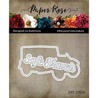 Paper Rose - Dies - Vintage Car
