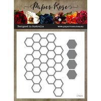Paper Rose - Dies - Hexagon Stack