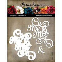 Paper Rose - Dies - Mr and Mrs