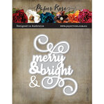 Paper Rose - Dies - Merry and Bright