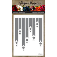 Paper Rose - Dies - Banners and Stars