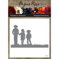 Paper Rose - Dies - Farmer with Children