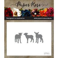 Paper Rose - Dies - Three Little Lambs