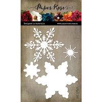 Paper Rose - Dies - Christmas Snowflake - Large