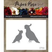 Paper Rose - Dies - Cockatoos