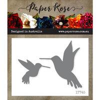 Paper Rose - Dies - Hummingbirds