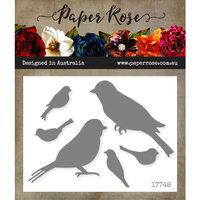 Paper Rose - Dies - Lots of Birds