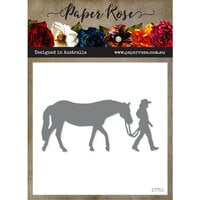 Paper Rose - Dies - Girl with Horse - Large