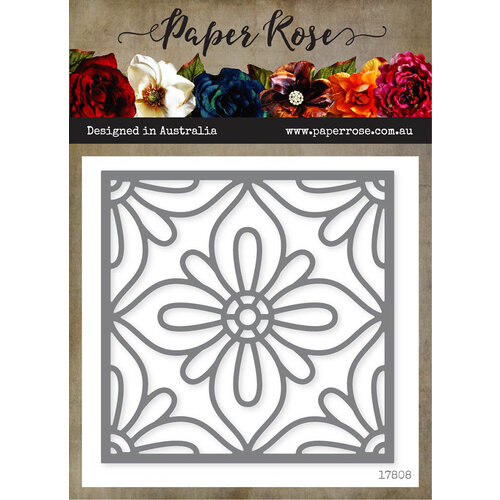 Paper Rose - Dies - Moroccan Square Layer 1