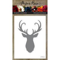Paper Rose - Dies - Deer Head