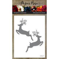 Paper Rose - Dies - Jumping Reindeer
