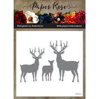 Paper Rose - Dies - Reindeer Family