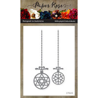 Paper Rose - Dies - Star Ornaments Hanging