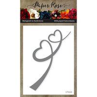 Paper Rose - Dies - Heart Border