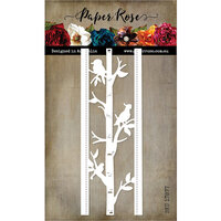 Paper Rose - Dies - Native Birds Border
