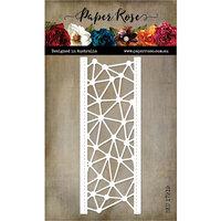 Paper Rose - Dies - Geometric Border