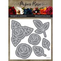 Paper Rose - Dies - Ella's Garden Layering Scribble Roses