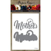 Paper Rose - Dies - Mother's Layering Word