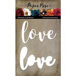 Paper Rose - Dies - Love - Large Layered Word