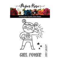 Paper Rose - Clear Photopolymer Stamps - Girl Power