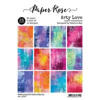 Paper Rose - A5 Paper Pack - Arty Love