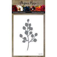 Paper Rose - Dies - Baby Blue Leaf Medium