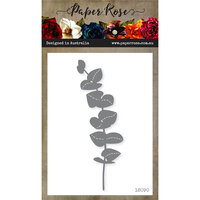 Paper Rose - Dies - Stitched Eucalyptus Branch Tall