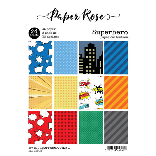 Paper Rose - A5 Collection Pack - Super Hero