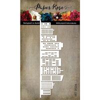 Paper Rose - Dies - Cityscape Border