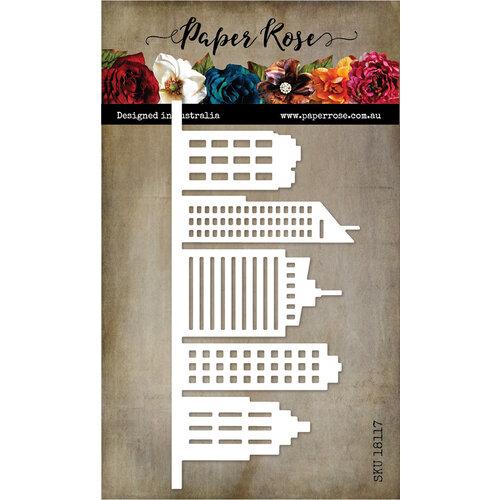 Paper Rose - Dies - Tall Building Border