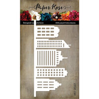 Paper Rose - Dies - Tall Building Border