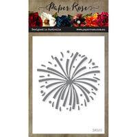 Paper Rose - Dies - Fireworks