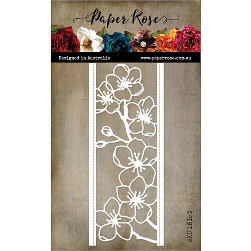 Paper Rose - Dies - Lovely Florals Blossom Border