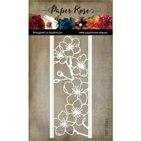 Paper Rose - Dies - Lovely Florals Blossom Border