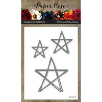 Paper Rose - Dies - Scribbled Stars