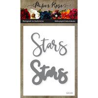 Paper Rose - Dies - Stars Word