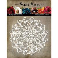 Paper Rose - 6 x 6 Stencil - Mandala