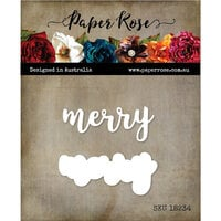 Paper Rose - Dies - Merry Layered