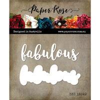 Paper Rose - Dies - Fabulous Layered